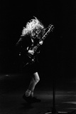 Angus Young from the Group Acdc Photographic Print
