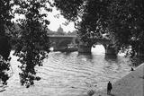 Paris, Pont Neuf Giclée-Druck von Jules Dortes