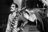 Queen Making Music Video 1984 Fotografie-Druck von Mike Maloney