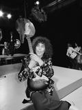 Marc Bolan 1975 Fotografisk tryk af Peter Sheppard