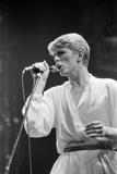David Bowie 1978 Reproduction photographique par Allan Olley