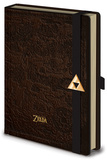 The Legend Of Zelda - Hyrule Map Premium A5 Notebook Notatbok