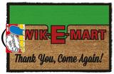 The Simpsons - Kwik-E-Mart Door Mat Gadgets