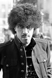 Phil Lynott of Thin Lizzy During a Recording Session for the Groups New Album. Photographic Print by Peter Stone
