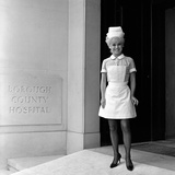 Barbara Windsor on the Film Set of Carry on Doctor. Photographic Print