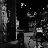 Dusty Springfield Performing at the Rehearsals for Top of the Pops, 25th May 1967 Reproduction photographique