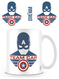 Captain America: Civil War - Team Cap Mug Taza