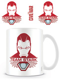 Captain America: Civil War - Team Stark Mug Krus