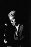 David Bowie Performing on Stage at the Barrowlands in Glasgow. Scotland. Reproduction photographique par John Gunion