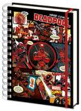 Deadpool A5 Notebook Diario