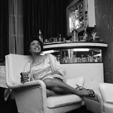 Shirley Bassey Reproduction photographique par Bob Hope
