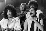 Queen Rock Group Rehearsing for Live Aid Fotografisk tryk af Jim Bennett