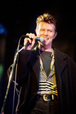 David Bowie Performing at the Big Twix Mix Concert at the Birmingham Nec. Fotografisk tryk