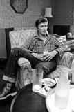 David Bowie 1977 Fotografisk tryk af Mike Maloney