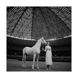 Vogue - April 1968 Premium Photographic Print by Franco Rubartelli