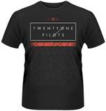 Twenty One Pilots- Scale Pattern Opaque T-paidat