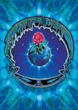 Grateful Dead- Earth Rose Plakater af Richard Biffle