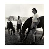 Vogue - August 1959 Impressão fotográfica premium por Toni Frissell