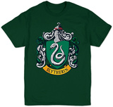 Harry Potter- Slytherin Crest T-skjorter