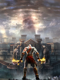 God of War: Key Art Kunstdrucke