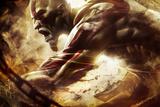 God of War: Key Art Kunstdrucke