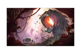 Ratchet And Clank: All 4 One - Environment Concept Art Kunstdrucke