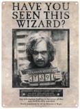 Harry Potter - Sirius Black Blikkskilt