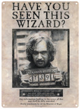 Harry Potter - Sirius Black Carteles metálicos