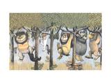 Let the Wild Rumpus Start II Giclee Print by Maurice Sendak