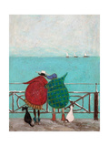We Saw Three Ships Come Sailing By Giclee Print by Sam Toft