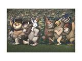 Let the Wild Rumpus Start III Giclee Print by Maurice Sendak