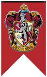 Harry Potter- Gryffindor Crest Banner Stampa