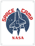 NASA Space Camp Blechschild