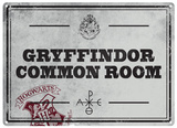 Harry Potter - Gryffindor Common Room Metalen bord