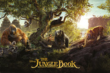 The Jungle Book- Live Action Panorama Stampe