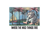 Where the Wild Things are Giclee Print by Maurice Sendak