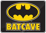 Batman - Batcave Plaque en métal