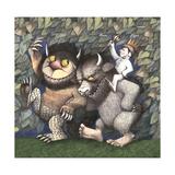 King Max, Carol and Bull Giclee Print by Maurice Sendak