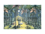 To the Land of the Wild Things Giclee Print by Maurice Sendak