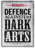 Harry Potter - Defence Against Dark Arts Plaque en métal