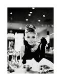 Audrey Hepburn – Breakfast at Tiffany's Kunstdruck von  Unknown