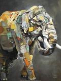 Asian Elephant Kunst af Britt Freda