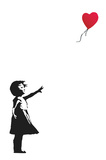 Balloon Girl Kunst von  Banksy
