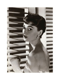 Audrey Hepburn – Blinds Poster von  Unknown