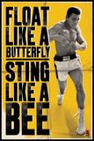 Ali – Float Like a Butterfly Plakat av Unknown,