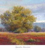 Anchored in Crimson Prints by Amanda Houston