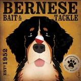 Bernese Bait & Tackle Poster von Stephen Fowler