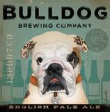 Bulldog Brewing Kunstdrucke von Stephen Fowler