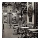 Café, Montmartre Art par Alan Blaustein