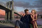 Brooklyn Nights Stampa di Chris Consani